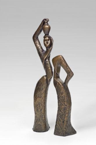 Woman & Jar by Sana Farah Bishara
