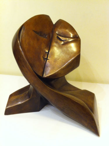 The Kiss by Sana Farah Bishara