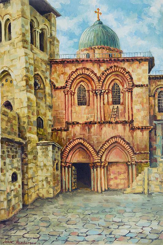 Church of Holy Sepulchre by Aram Hambaryan