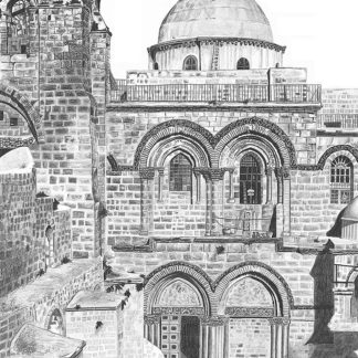 Church of the Holy Sepulchre by Shehab Kawasmi