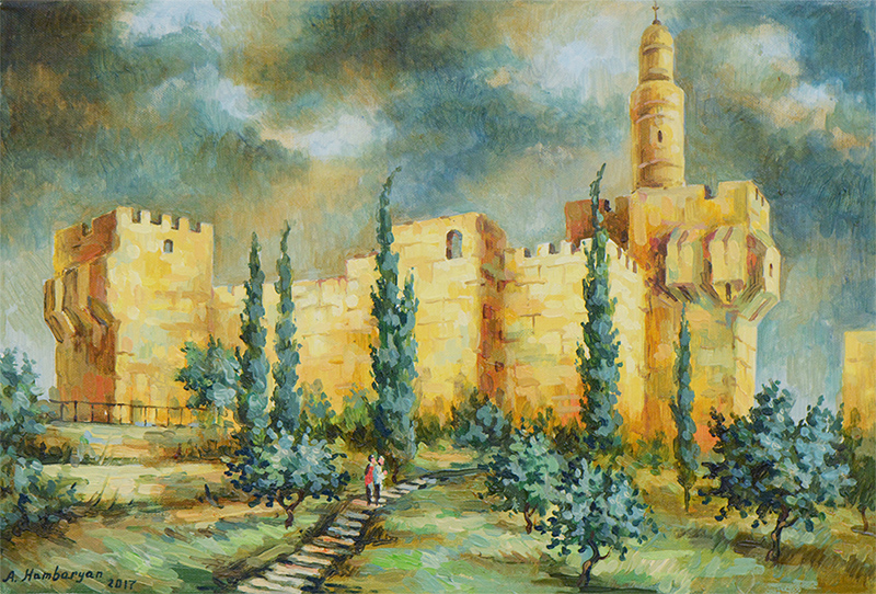 City Walls by Aram Hambaryan