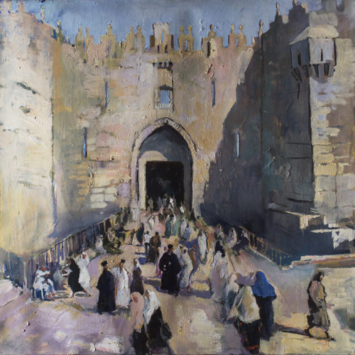 Damascus Gate by Sophie Walbeoffe