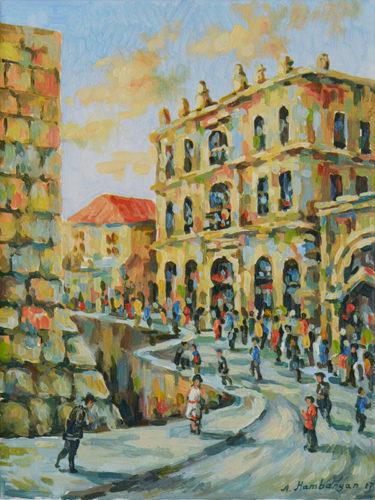 Inside Jaffa Gate by Aram Hambaryan