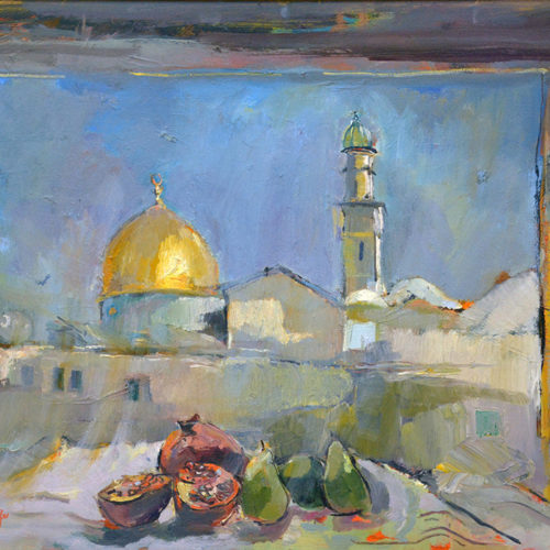 Jerusalem View by Sophie Walbeoffe