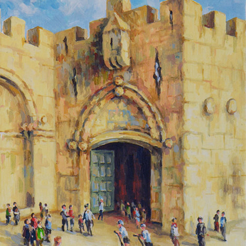 Outside Jaffa Gate by Aram Hambaryan