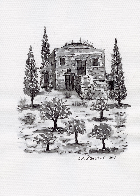 Taybeh Village by Issa Zawahreh