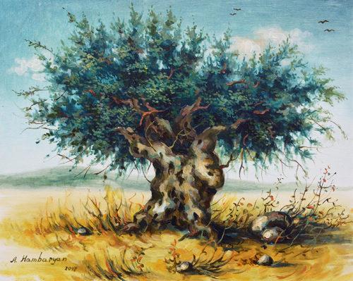 The Ancient Olive Tree by Aram Hambaryan
