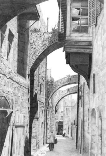 Via Doloroza 1905 by Shehab Kawasmi