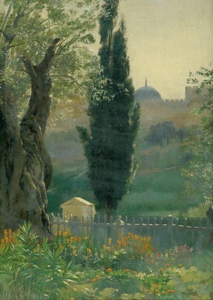 Garden of Gethsemane by James Clark