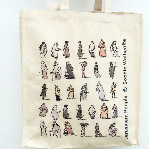 Jerusalem People Bag by Sophie Walbeoffe