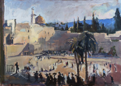 The Western Wall by Sophie Walbeoffe