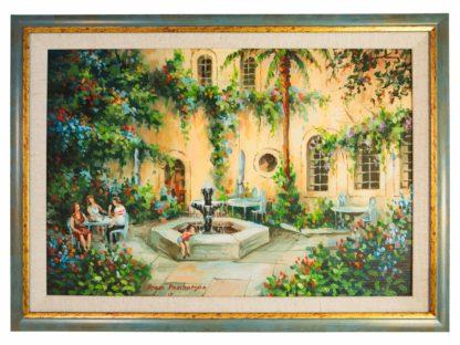 Enjoying the American Colony Original Artwork