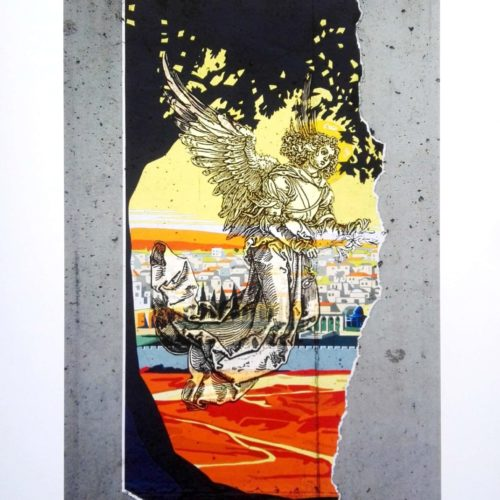 Archangel Gabriel Brings Peace Print