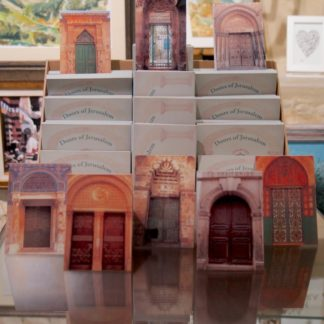 Doors of Jerusalem Cards