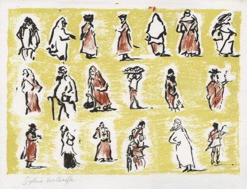 Jerusalem People by Sophie Walbeoffe