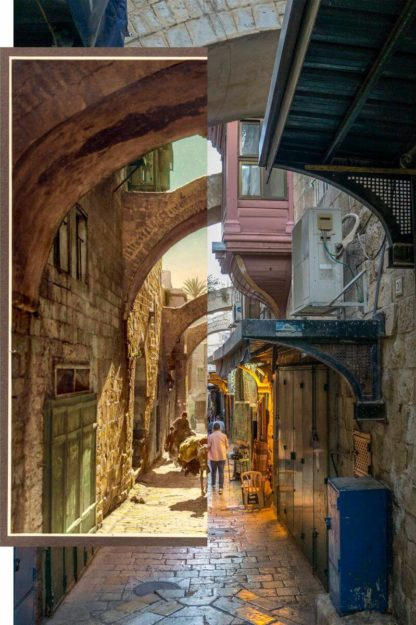 Via Dolorosa by Jack Persekian